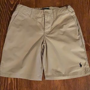 Polo Ralph Lauren boys khaki shorts